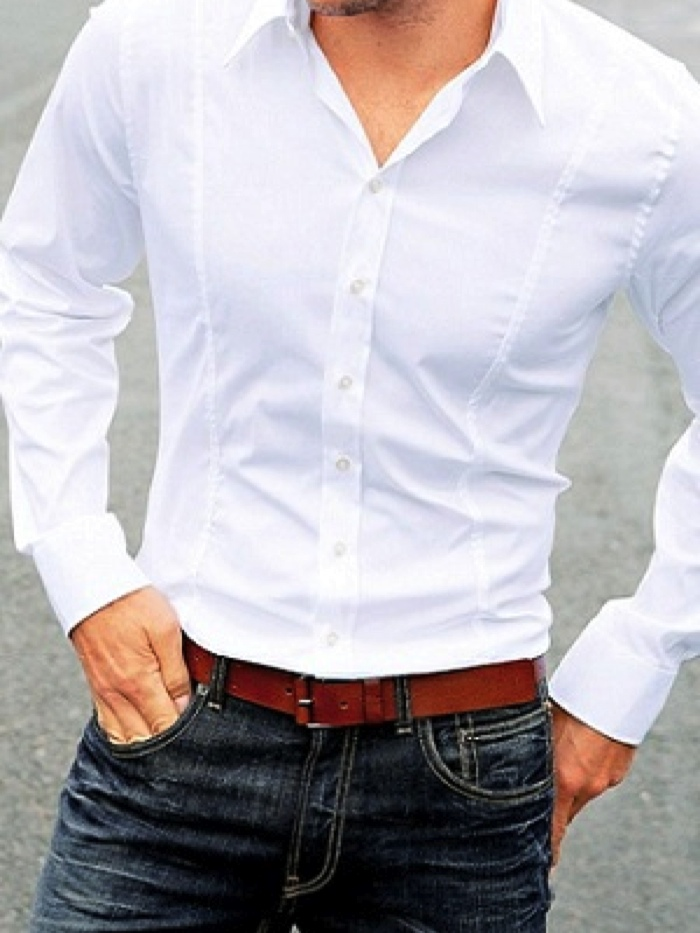 Fashion Focus: White Shirt & Jeans | Sage Clothing Blog