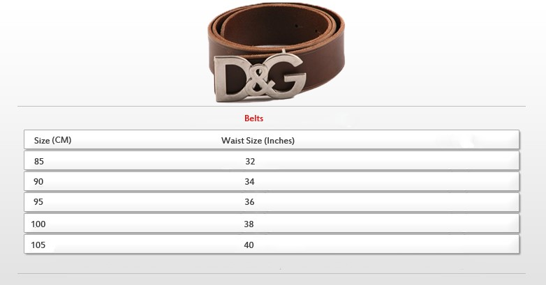belts size Guide