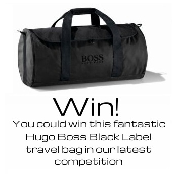 Win A Hugo Boss Black Label Travel Bag