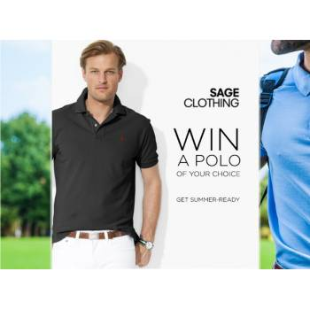 Win a Polo Shirt of your Choice