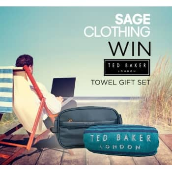 Win a Ted Baker Towel Gift Set