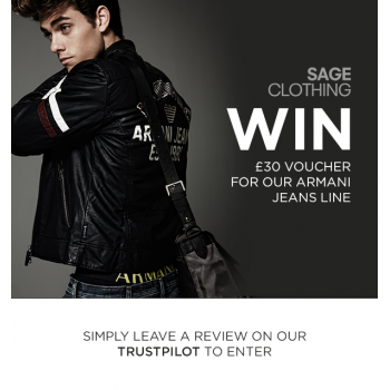 Win £30 Voucher for our Armani Jeans Line