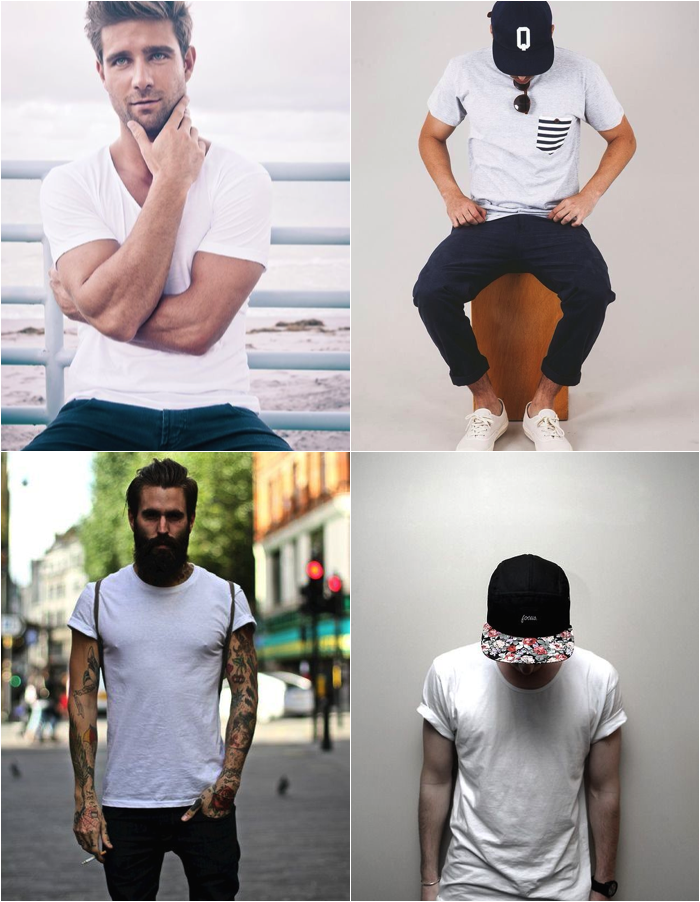 Plain White T Shirt Makes Men More Attractive Sage Clothing Blog