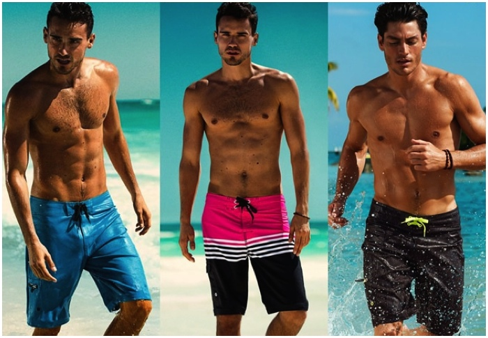 And yet there have never been so many acceptable swimwear options for men   Speedos now worn alongside board shorts and sporty retro styles on the  beach. 28ed03771