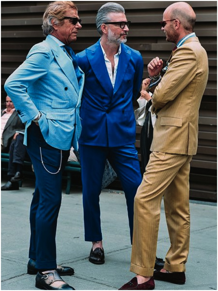 The Best Street Style Looks Ss 2015 Men 39 S Fashion Week Sage Clothing Blog