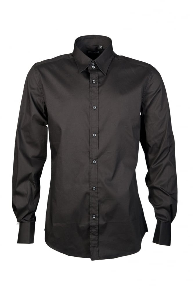 Business Shirt in Black MMSL00137FA450001-9000