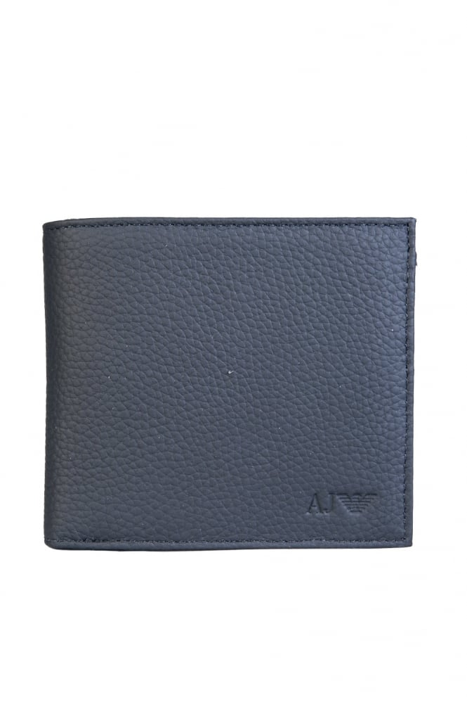 Armani Jeans Bifold Wallet 3 Card Holder Slots and Coin Pouch 938540 CC992