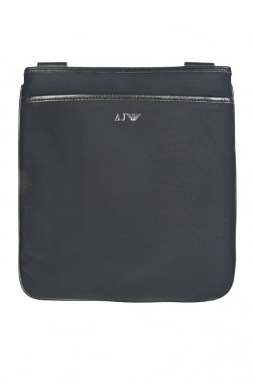 Armani Jeans Canvas Tablet Bag in Black 062962R7