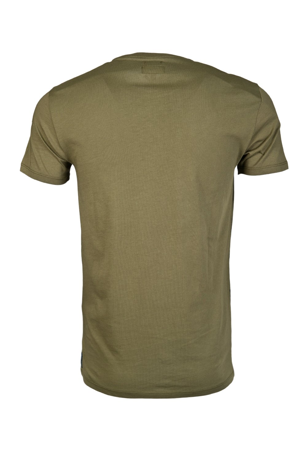 armani jeans round neck t shirt b6h79ul green mens new ebay. Black Bedroom Furniture Sets. Home Design Ideas