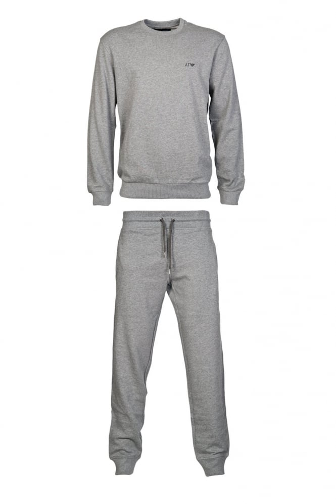 Cotton Tracksuit in Grey Black and Range of Colours 06M28RN/06P84RN