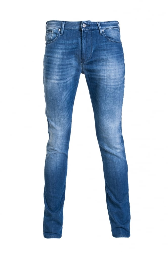 Armani Jeans J06 Denim Jeans Slim Fit 3Y6J06 6D14Z
