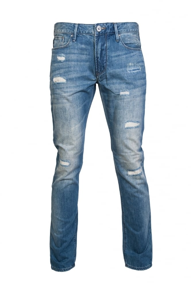 J06 Denim Jeans Slim Fit 3Y6J06 6DACZ