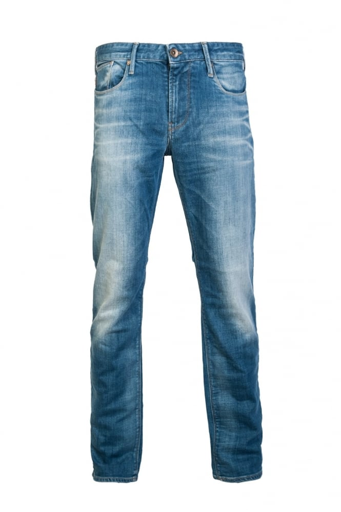 Armani Jeans J06 Denim Jeans Slim Fit 6X6J066D03Z