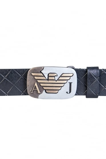 Armani Jeans Leather Belt 931075 7P816