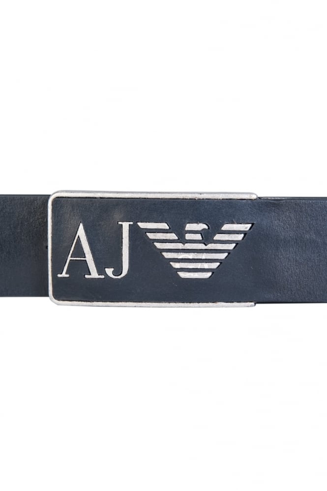 Armani Jeans Leather Belt 931504 CC881