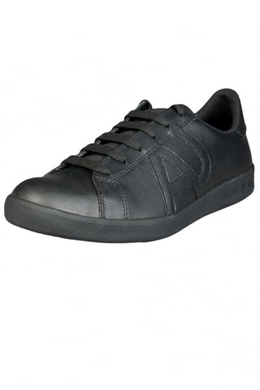 Armani Jeans Leather Trainers 06565YO-12