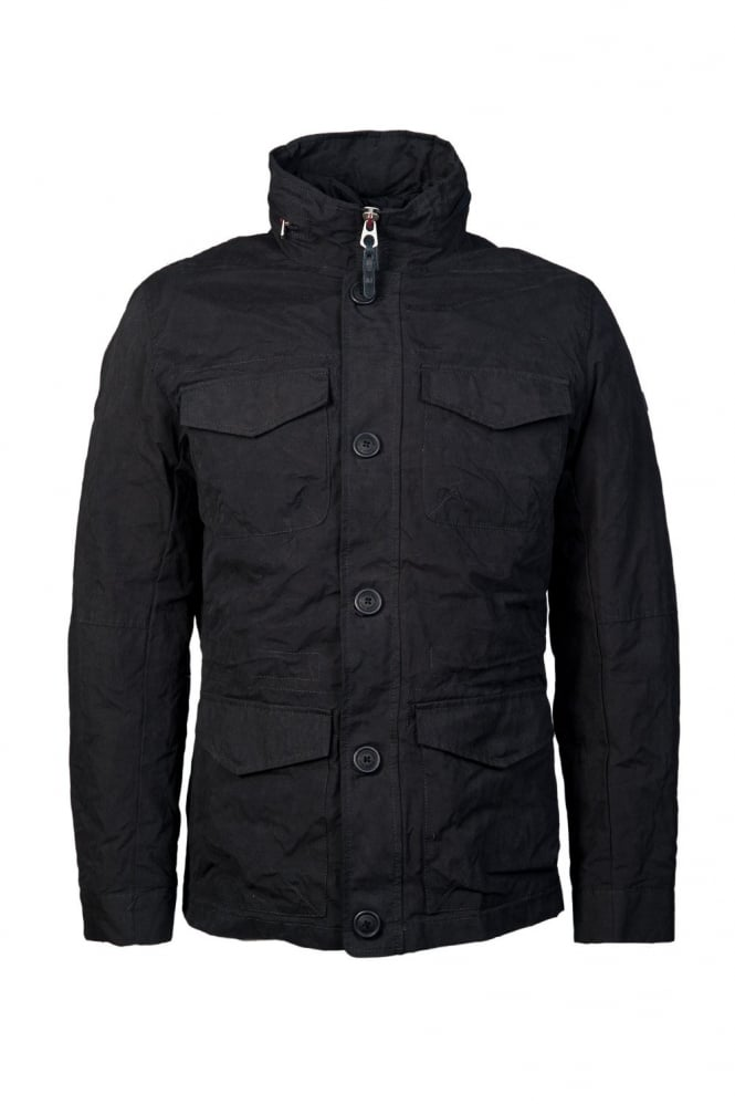 Parka Jacket in Navy Blue Z6K10XM