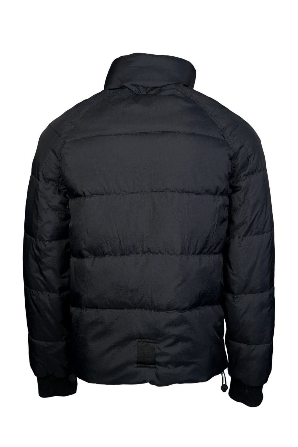 Armani Jeans Puffer Winter Jacket in Black and Blue