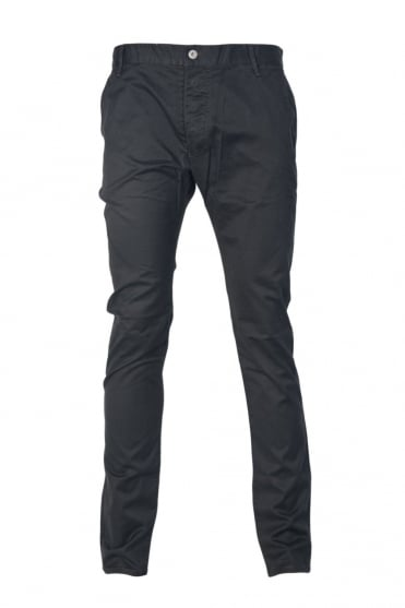 Armani Jeans Slim Fit Chinos in Black, Navy Blue, Charcoal Grey and Khaki Green Z6P15AG
