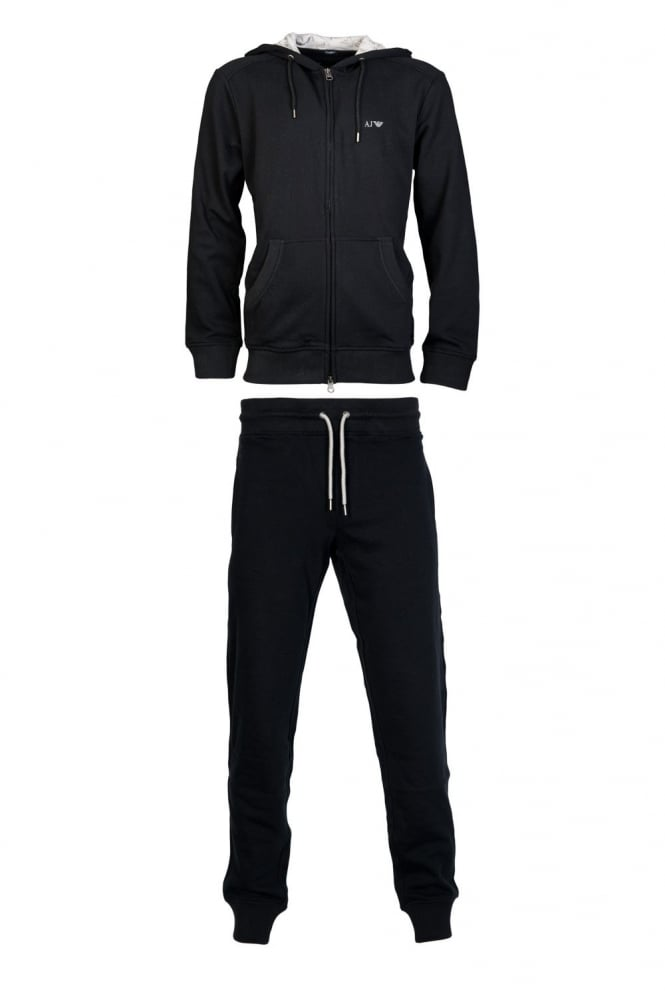 a8d986a9132e 8N6P886JQDZ A0232grey V1383 1115536P571. armani jeans sporty designer  tracksuit in black grey and ...