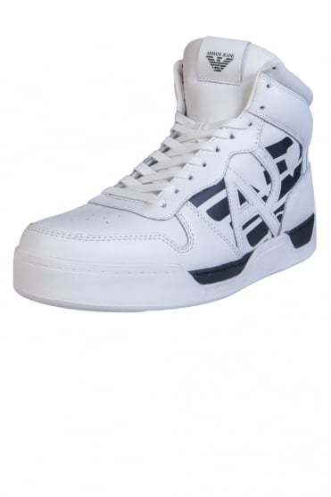 Armani Jeans Trainers Hi Top 935115 7A431