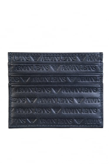 Armani Jeans Wallet Card Holder 3 Slots 938548 CC999
