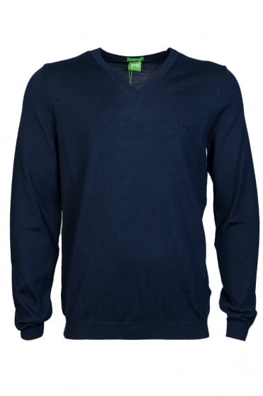 BOSS Green Sweatshirt Jumper V Neck model