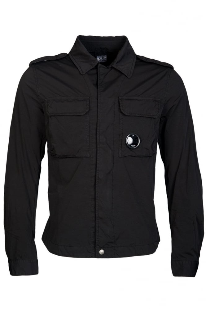 C.P. Company Ultra-Lightweight Jacket in Black CPUS04264001020-999