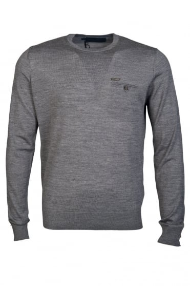 DSquared2 Knitwear Jumper in Charcoal Grey S74HA0517S14586-860M