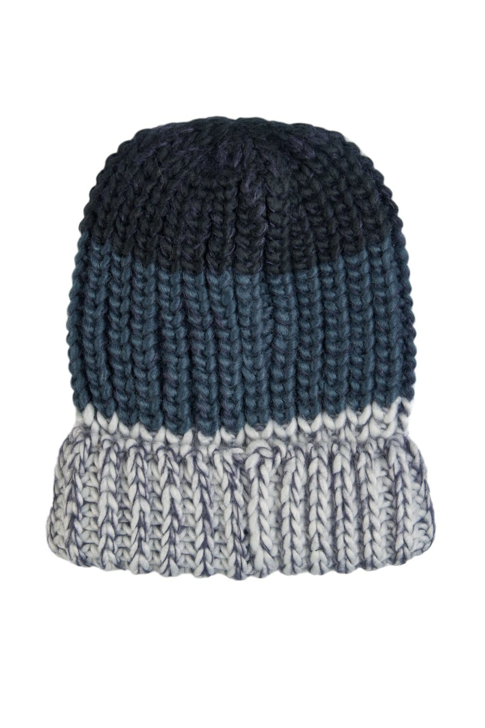 EA7 by Emporio Armani Beanie Hat in Navy Blue Grey and Brown 2755545A392 fa3fe1d3db9