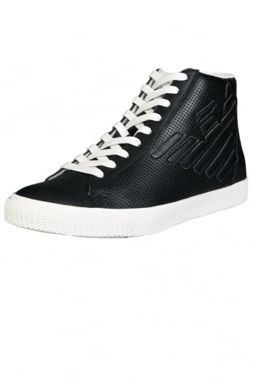 Emporio Armani EA7 High Top Trainers 278044 6P299
