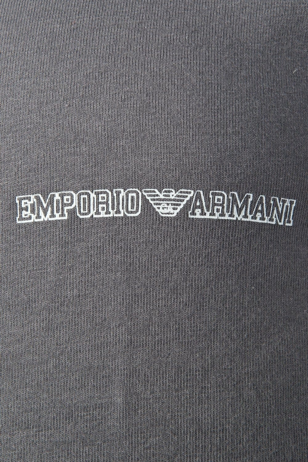 e22ea87935d47 Emporio Armani Fitted Underwear T-shirt in Red and Charcoal Grey 1110355P725