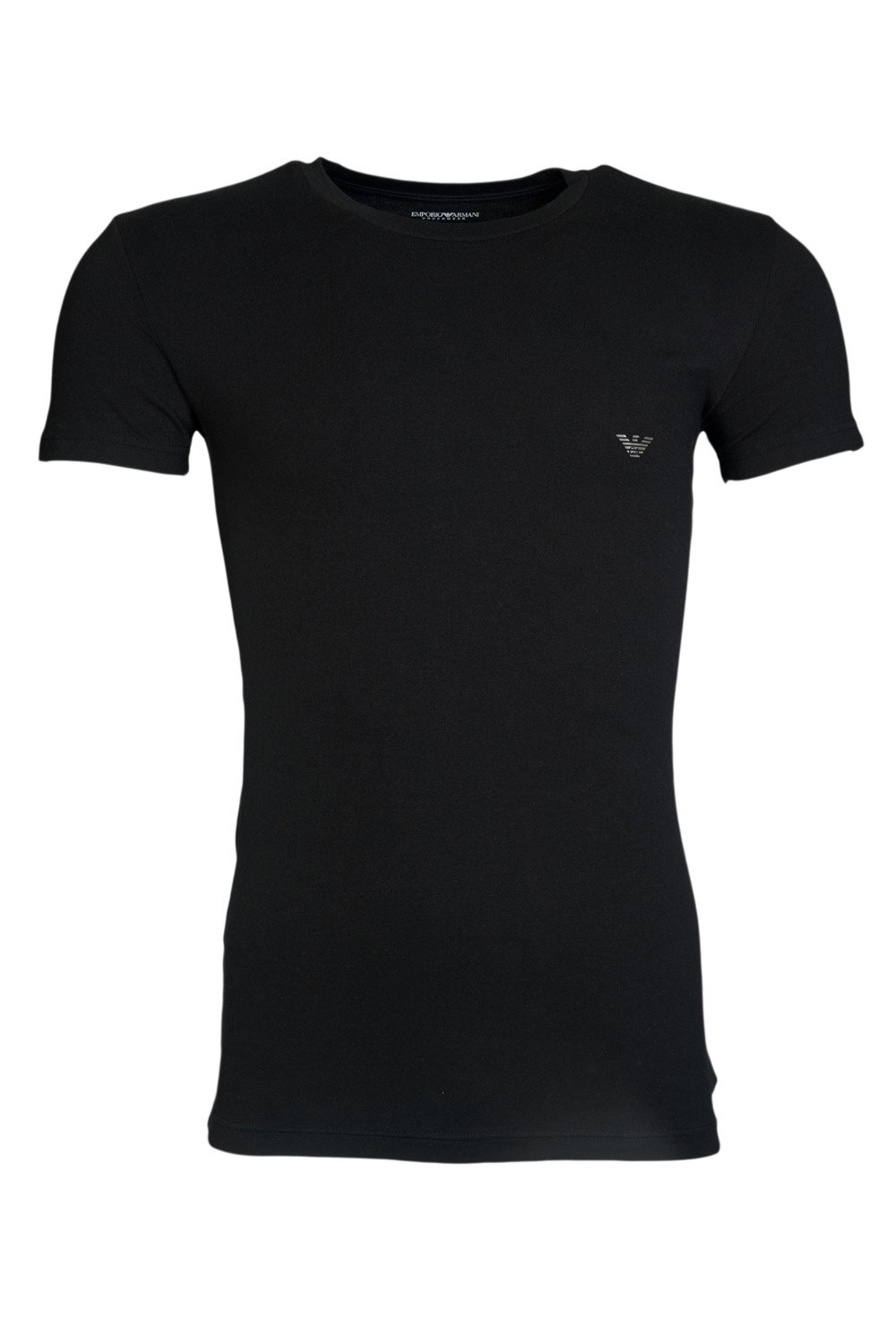 emporio armani mens round neck t shirts 1110355p745 ebay. Black Bedroom Furniture Sets. Home Design Ideas