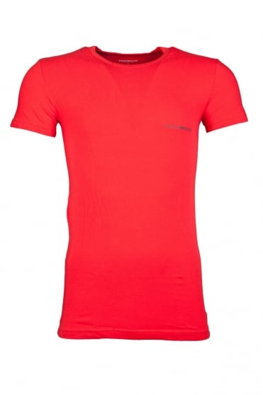 Emporio Armani Underwear T-shirt in Black, Red and Blue 1110354A725