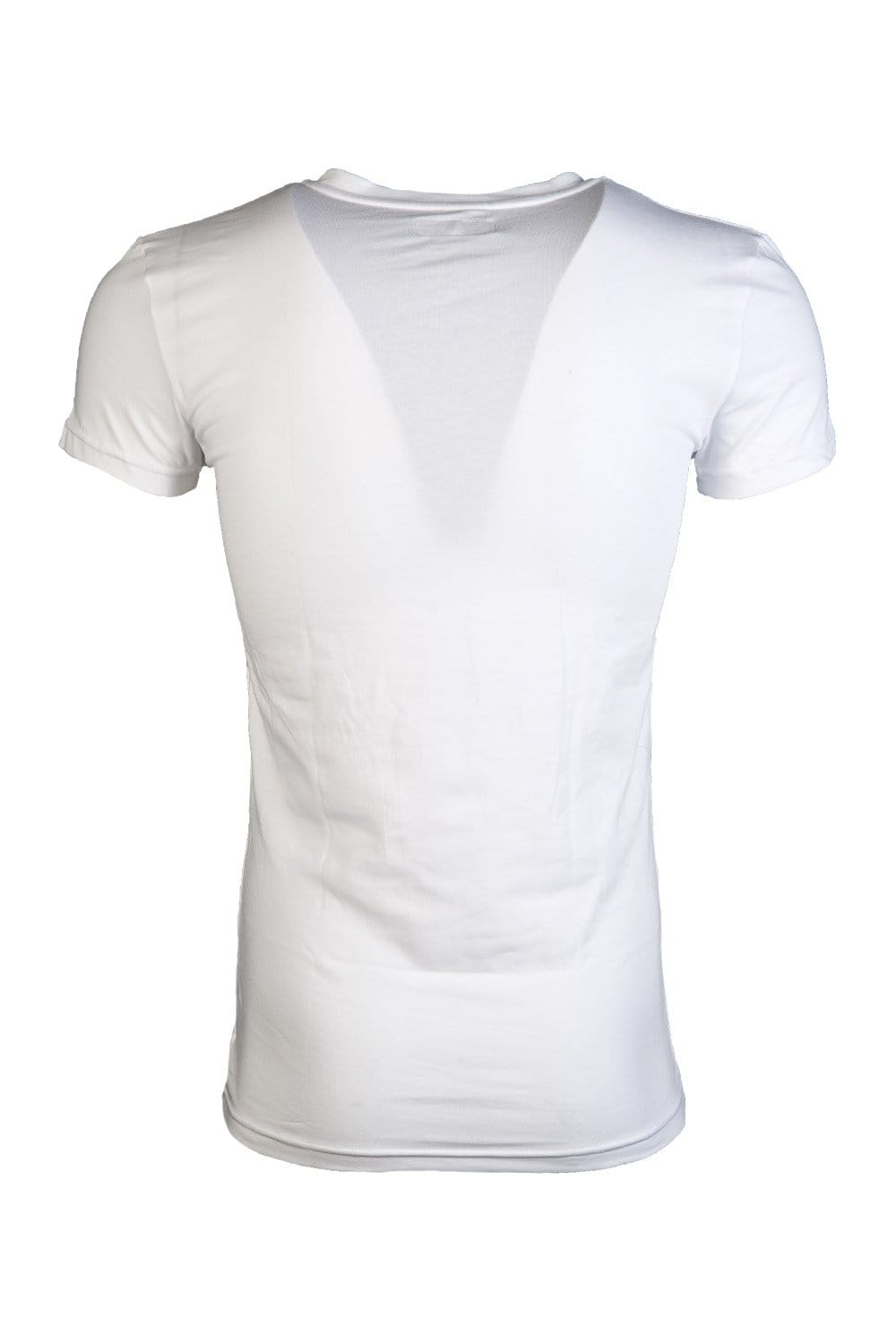 new lower prices cheap best loved Emporio Armani V-neck Underwear T-shirt in Black and White 110752CC518