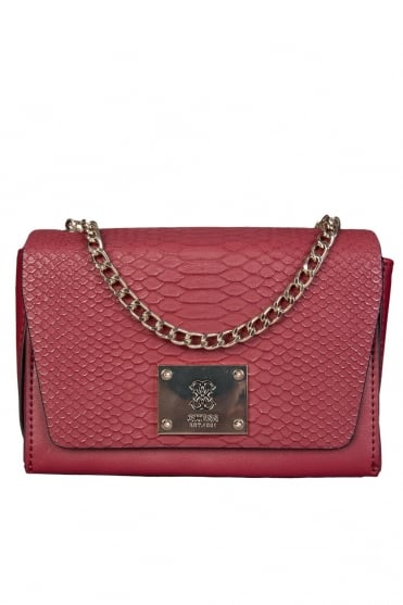 Guess Elegant Cross body Bag in Burgundy and Black HWVG5068780