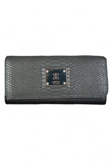 GUESS Faux Leather Wallet in Black SWVG5068530