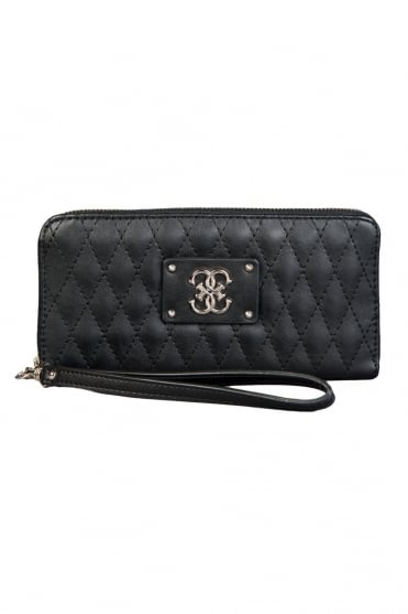 GUESS Quilted Design Wallet in Black SWVG6109460