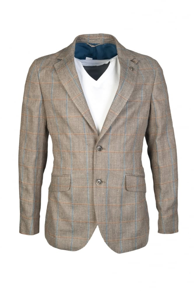 Hackett Check Blazer Jacket HM441724R
