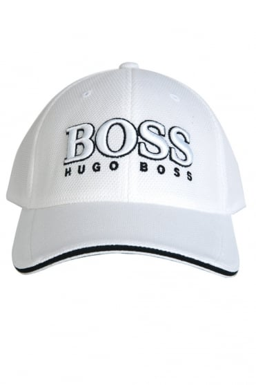 HUGO BOSS Baseball Cap in Black, White and Navy Blue CAP US 50251244
