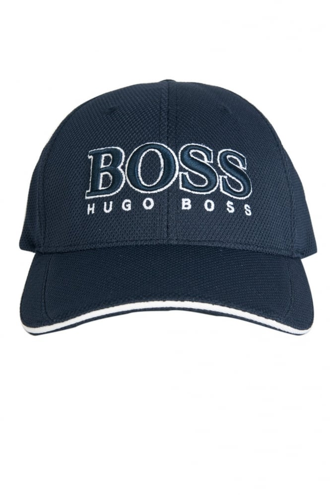 HUGO BOSS Baseball Cap in Black  White and Navy Blue CAP US 50251244