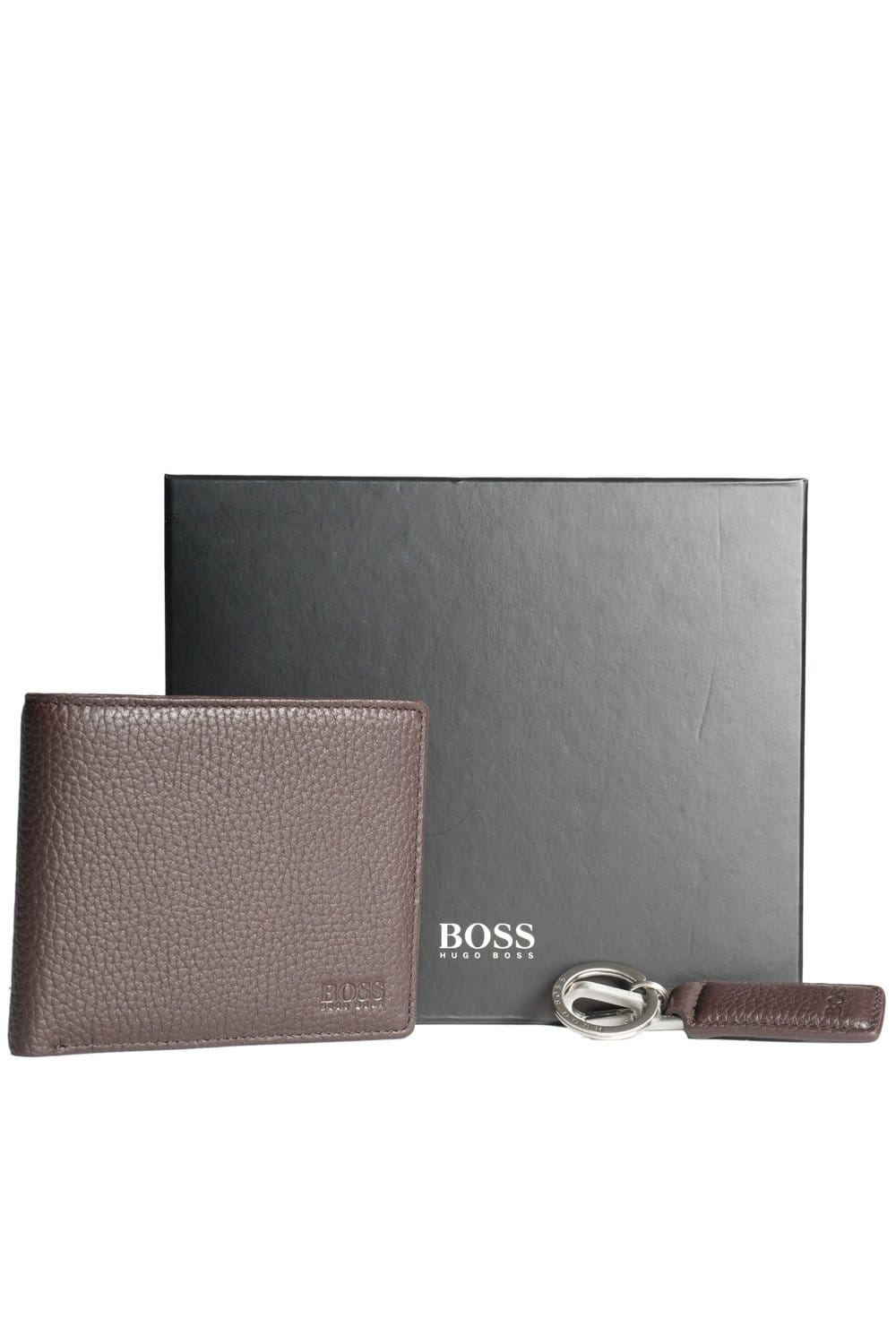 HUGO BOSS BLACK 5 Card Holder and Coin Purse Leather Wallet and ...