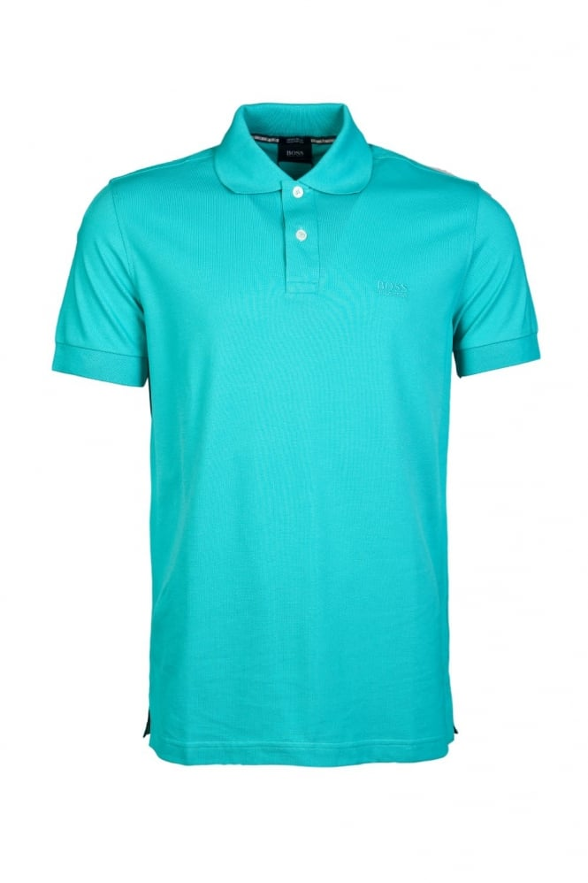 HUGO BOSS BLACK Classic Polo Shirt in Blue and range of colours FIRENZE/LOGO 50263584