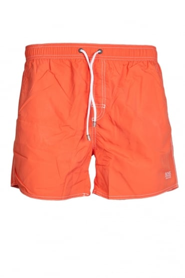 HUGO BOSS BLACK Quick-dry Swimming Shorts in Yellow, Orange and range of colours LOBSTER 50269486