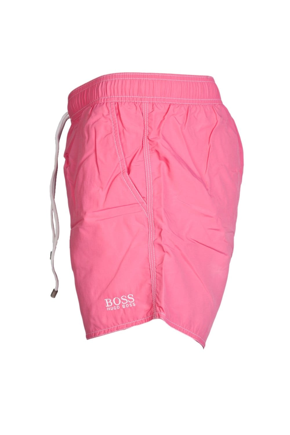 2e82ee32e HUGO BOSS BLACK Quick-dry Swimming Shorts in Yellow Orange and range of  colours LOBSTER