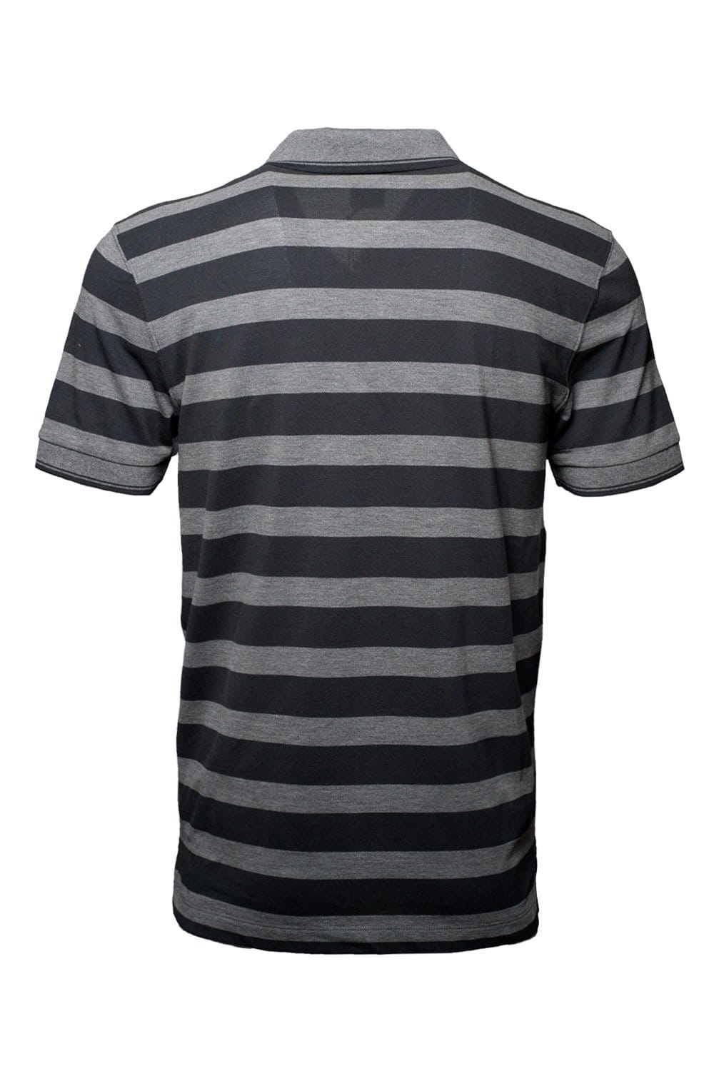 Hugo boss black regular fit stripe polo t shirt in blue for Red blue striped shirt