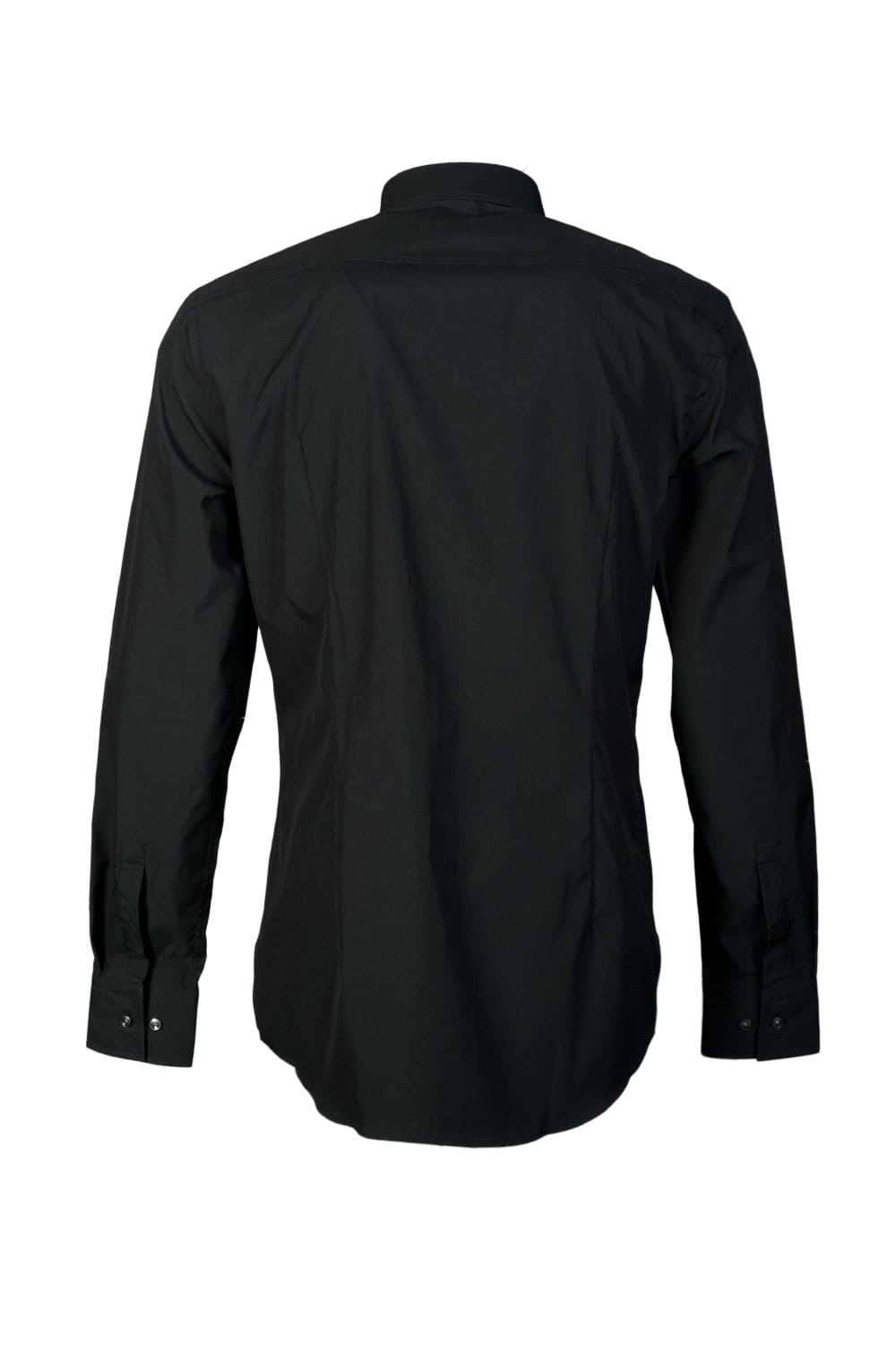 hugo boss black stretch shirt in black and white philip