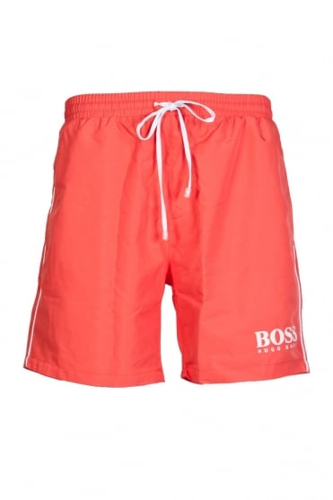 HUGO BOSS BLACK Swimming Shorts in Pink, Yellow, Black, Blue, Green and Red STARFISH BM 50220844