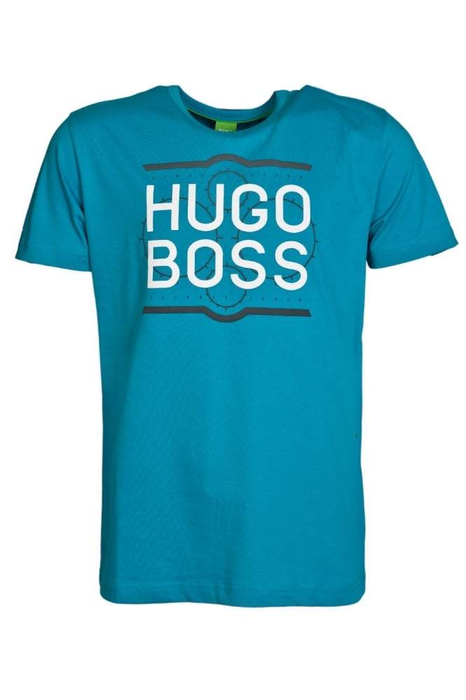 HUGO BOSS GREEN Classic Short Sleeve Tee in Black, White and range of colours TEE 1 50282271