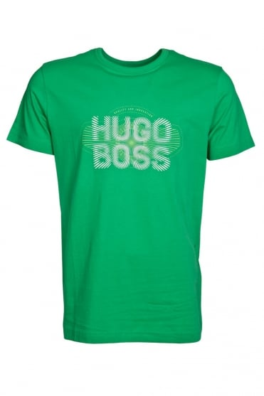 HUGO BOSS GREEN Classic Short Sleeve Tee in Black  White and range of colours TEE 2 50282246